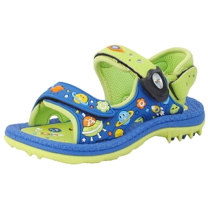 Kids Signature Sandal: 8680B Blue (Size: T9.5-13.5)